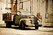 Off The Beaten Path Photography - Andrew Alexander Metal Prints - Back Alley Ford Metal Print by Off The Beaten Path Photography - Andrew Alexander