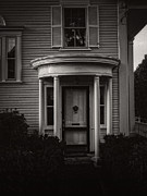 Entrance Door Photos - Back Home Bar Harbor Maine by Edward Fielding