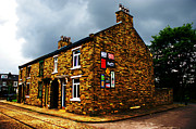 Building Digital Art Originals - Back to back dwellings by Andy Beattie Photography