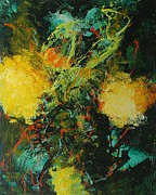 Abstract Art Paintings - Back to Eden by Allan P Friedlander