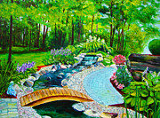 Suzanne Johnson - Back yard Garden...
