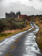Barn Storm Prints - Backroads of Ireland Print by Trever Miller