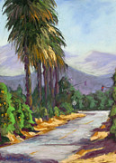 With Pastels Originals - Backroads Vista by Patricia Rose Ford