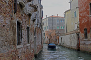 Backstreets Prints - Backstreet canal Print by Tony Murtagh