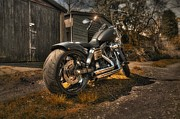 Harley Davidson Photos - Backstreet Heroes by Jason Green