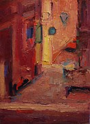 R W Goetting - Backstreet in Sienna