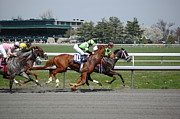 Keeneland Art - Backstretch by Paul Harris