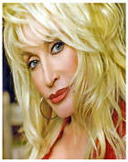 Dolly Parton Framed Prints - Backwoods Barbie Framed Print by Brian Graybill