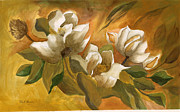 Robert  ARTSYBOB Havens - Backyard Magnolia