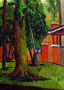 Charlie Spear - Backyard of 267 West