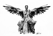Bad Drawing Originals - Bad Angel by Mario Pichler