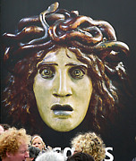 Medusa Framed Prints - Bad Hair Day At Dorsay Framed Print by Joe Schofield