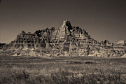 Bad Lands Prints - Bad Lands Ridge Print by Gary Rieks