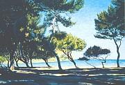 Badia De Alcudia -- Mallorca Print by Herschel Pollard