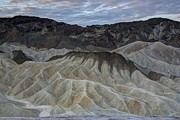 Badlands At Sunrise. Death Valley Print by Juli Scalzi