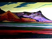 Badlands Painting Originals - Badlands  by Michael Taylor