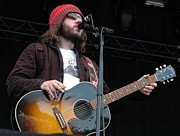 Music Photo Prints - Badly Drawn Boy Print by Jenny Potter
