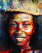Canoe Originals - BagaBaga Canoe Girl by Stephen Bennett