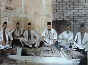 Baghdadi Jews 1920's Print by Rami Besancon