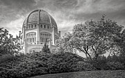 Concrete Prints - Bahai in Spring Print by Scott Norris