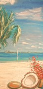 Skies Pastels - Bahamas Beach by The Beach  Dreamer