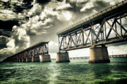 Bahia Honda Photos - Bahia Honda Bridge by Scott Bert