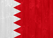 Bahrain Framed Prints - Bahrain flag Framed Print by Luis Santos