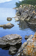 Rocky Shore Prints - Baikal Ushkany islands Print by Anonymous
