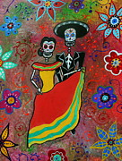 Pristine Cartera Turkus Prints - Bailar Couple Print by Pristine Cartera Turkus