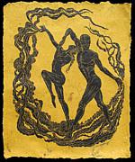 Baile Del Sol Print by Maria Arango
