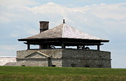 Bake House At Old Fort Niagara Print by Rose Santuci-Sofranko