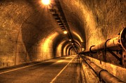 Sausalito Prints - Baker Barry Tunnel Print by Mike Ronnebeck