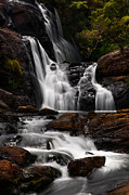 Horton Prints - Bakers Fall IV. Horton Plains National Park. Sri Lanka Print by Jenny Rainbow