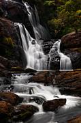 Jenny Rainbow - Bakers Fall IV. Horton Plains National Park. Sri Lanka