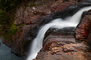 Horton Prints - Bakers Fall VI. Horton Plains National Park. Sri Lanka Print by Jenny Rainbow