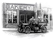 Delivery Truck Drawings - Bakery by Todd Spaur