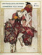 Bakst, L�on 1866-1924. La P�ri. 1911 Print by Everett