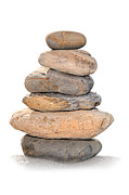 Rock Pile Posters - Balance Poster by Paul Cowan