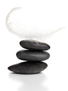 Isolated  Sculpture Posters - Balance Poster by Shawn Hempel