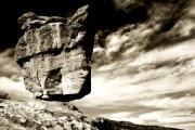 Gods Prints - Balanced Rock II Print by Toni Hopper