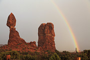 Alan Vance Ley - Balanced Rock Rainbow