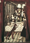 Banquet Prints - Balbases, Master Of 15th C.. Miracle Print by Everett