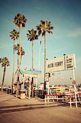 Paul Velgos - Balboa Island Ferry Nostalgic Vintage Picture