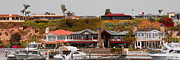 Roofs - Balboa Island Panorama by Ben and Raisa Gertsberg