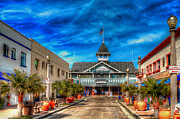 Charters Photos - Balboa Pavilion by Jim Carrell