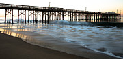 Sea Shore Framed Prints - Balboa Pier  Framed Print by John Daly