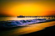 Paul Velgos - Balboa Pier Picture at Sunset in Orange County California
