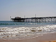 Carolyn Stagger Cokley Metal Prints - Balboa Pier2 Metal Print by Carolyn Stagger Cokley