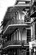 Louisiana Artist Prints - Balconies in Nawlins Print by John Rizzuto