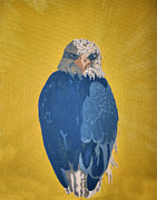 Eagle Pastels Metal Prints - Bald Eagle Metal Print by Ana Bar